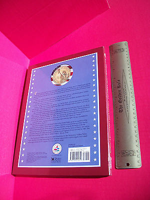 Education Gift President Dollar Book Deluxe US Coin Collectors Album Booklet New