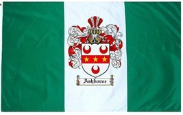 Ashborne Coat of Arms Flag / Family Crest Flag - $29.99