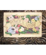 Powder Room Wall Plaque - $4.00
