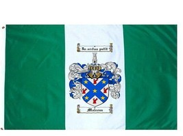 Malcom Coat of Arms Flag / Family Crest Flag - $29.99