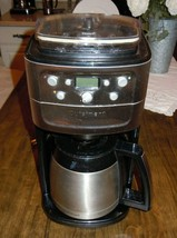 Cuisinart Fully Automatic Burr Grind & Brew Coffee Maker Programmable DG... - $138.59
