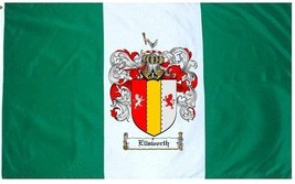 Ellsworth Coat of Arms Flag / Family Crest Flag - $29.99