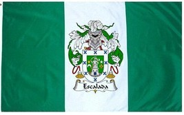 Escalada Coat of Arms Flag / Family Crest Flag - $29.99