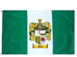 Rizzi Coat of Arms Flag / Family Crest Flag - $29.99