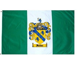 Harlan Coat of Arms Flag / Family Crest Flag - $29.99
