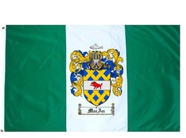 Macan Coat of Arms Flag / Family Crest Flag - $29.99