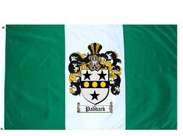 Paddack Coat of Arms Flag / Family Crest Flag - $29.99