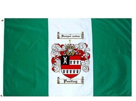 Panting Coat of Arms Flag / Family Crest Flag - $29.99