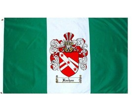 Rochon Coat of Arms Flag / Family Crest Flag - $29.99