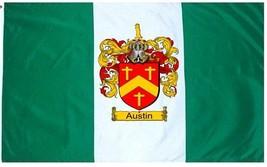 Austin Coat of Arms Flag / Family Crest Flag - $29.99