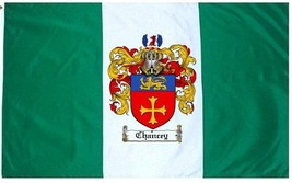Chancey Coat of Arms Flag / Family Crest Flag - $29.99