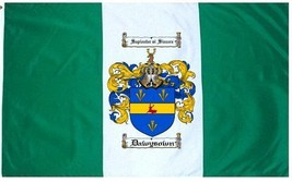 Dawysown Coat of Arms Flag / Family Crest Flag - $29.99