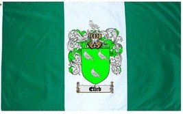 Efird Coat of Arms Flag / Family Crest Flag - $29.99