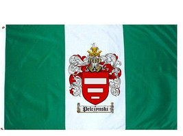 Pelczynski Coat of Arms Flag / Family Crest Flag - $29.99