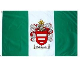 Pelczynski Coat of Arms Flag / Family Crest Flag - $29.99