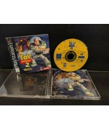 Toy Story 2 Buzz Lightyear to the Rescue Sony PlayStation 1 PS1 + Guide ... - $29.00