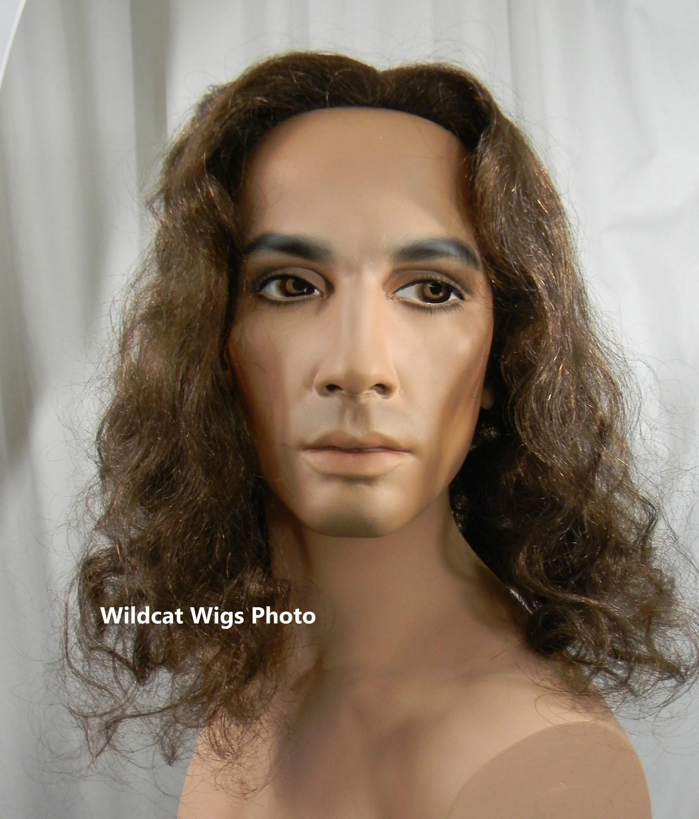 Jesus Wig .. Rocker Wig .. Heavy Metal .. Gaston Beauty and the Beast