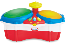 Little Tikes Bongos Drums Musical Toys Instruments Learning NEW Christma... - $22.13