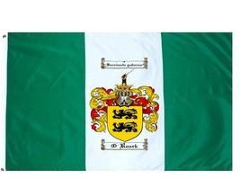 O'Roark Coat of Arms Flag / Family Crest Flag - $29.99