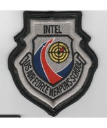 """4"""" USAF WIC INTEL DIVISION WEAPONS SCHOOL SWIRL LEATHER EMBROIDERED JACK... - $18.99"""