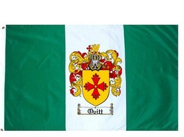 Ovitt Coat of Arms Flag / Family Crest Flag - $29.99