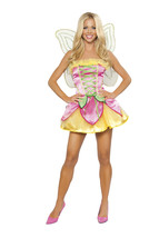 Sexy Roma Springtime Sprite Fairy Wood Nymph Halloween Costume S/M M/L 4268 - $65.00