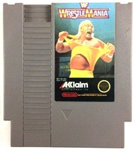 WWF Wrestlemania NES Nintendo 1989 Cartridge Only Tested and Working - $4.90