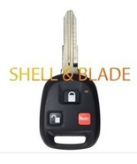 2002 - 2004 Isuzu Axiom HYQ1512 SHELL AND BLADE ONLY (BUTTONS NOT INCLUDED) - $15.83
