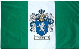 Cauley Coat of Arms Flag / Family Crest Flag - $29.99