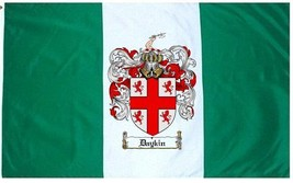 Daykin Coat of Arms Flag / Family Crest Flag - $29.99