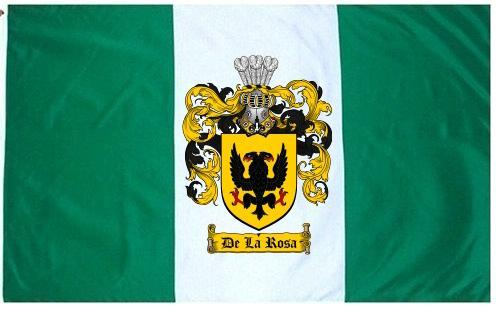 Delarosa crest crest flag
