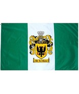 Delarosa-crest Coat of Arms Flag / Family Crest Flag - $29.99