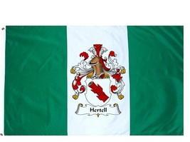 Hertell Coat of Arms Flag / Family Crest Flag - $29.99
