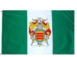 Illan Coat of Arms Flag / Family Crest Flag - $29.99