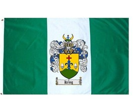 Kring Coat of Arms Flag / Family Crest Flag - $29.99