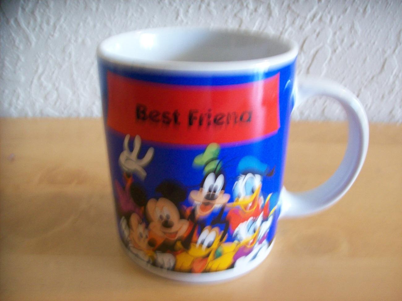 Disney Mickey Mouse Best Friends Coffee Mug