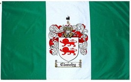 Clanchy Coat of Arms Flag / Family Crest Flag - $29.99