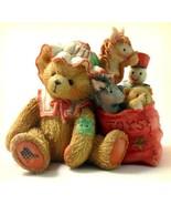 """Cherished Teddies Carolyn """"Wishing You All Good Things"""" Christmas 1993 R... - $11.99"""