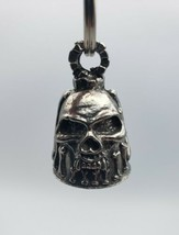 Skull and Bones Horror Guardian Gremlin Good Luck Angel Motorcycle Bell ... - $11.80