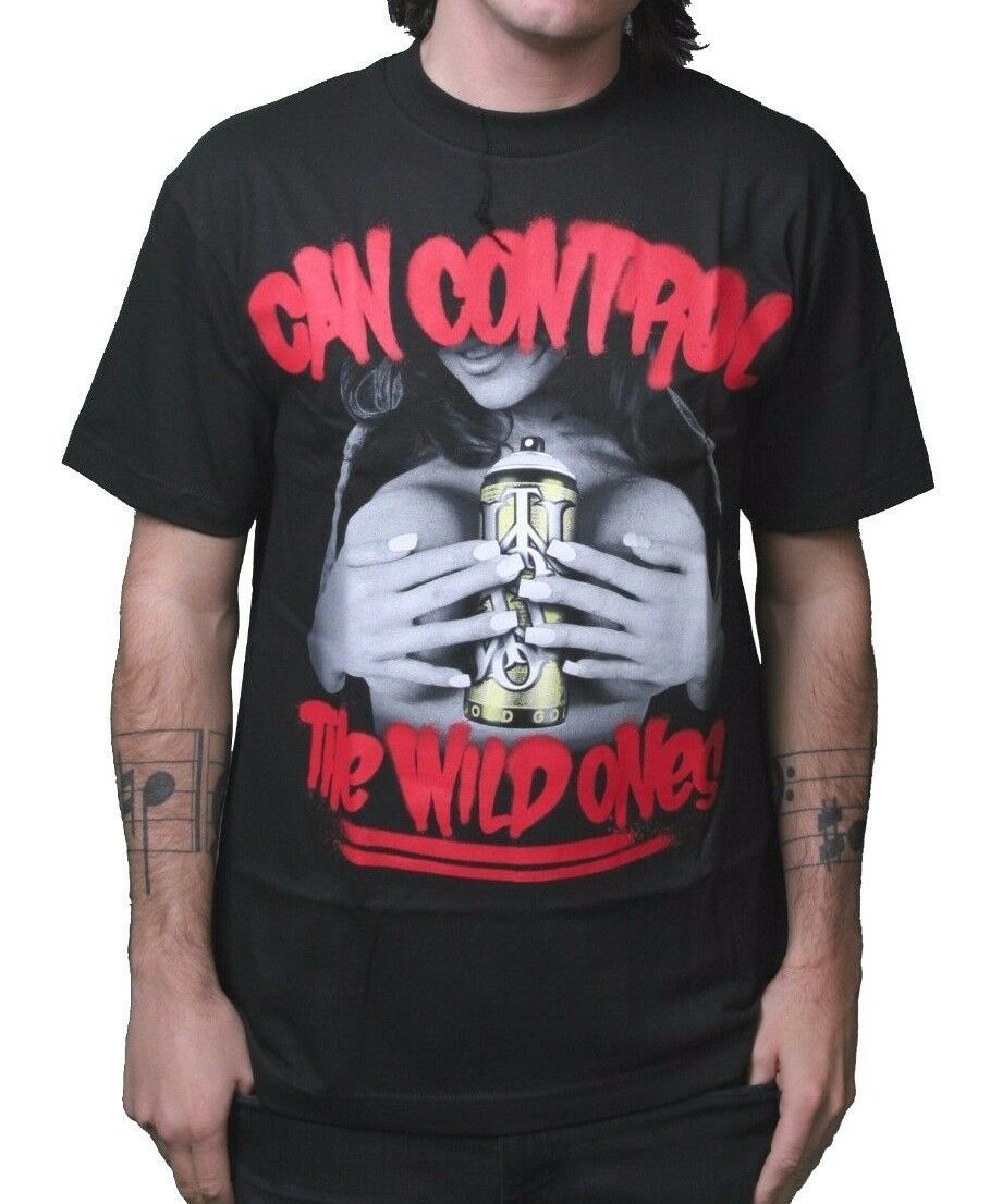 The Wild Ones Can Control Graffiti LA Famous Travis Barker Boobs Mens T-Shirt