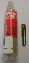 """Porter Cable 43731 1/4"""" Core Box Solid Carbide Router Bit 1/4"""" Shank USA - $7.92"""