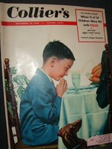 Collier's Magazine Polio (November 29, 1952) [Paperback] [Jan 01, 1952] ... - $19.60