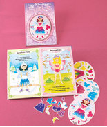 Fairies Magnetic Dress-Up Book - $15.50