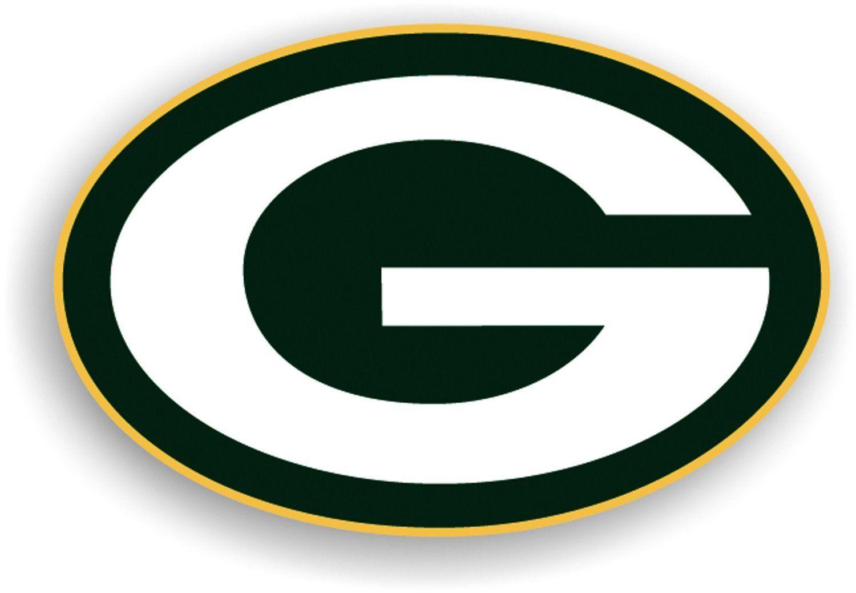"GREEN BAY PACKERS (LOGO) *BIG* 12"" MAGNET CAR AUTO FRIDGE METAL NFL FOOTBALL"