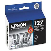 Epson T127120 (127) High-Yield Ink Cartridge, B... - $44.95
