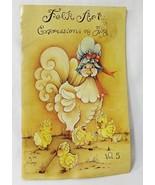 Folk art expressions of joy Vol. 5 painting art drawing book Vtg 1976 Jo... - $10.88