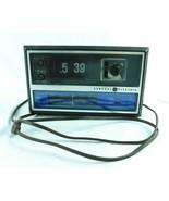 Vintage GE C4315B Flip Clock AM/FM Radio Alarm FOR PARTS - $19.99
