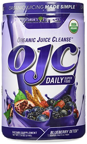 Purity Products - Certified Organic Juice Cleanse (OJC) - Blueberry Detox - N...