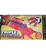 Spiderman Triple Action Web Blaster   - $14.90