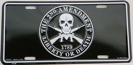 2nd Amendment, 1789, Liberty or Death License P... - $8.90